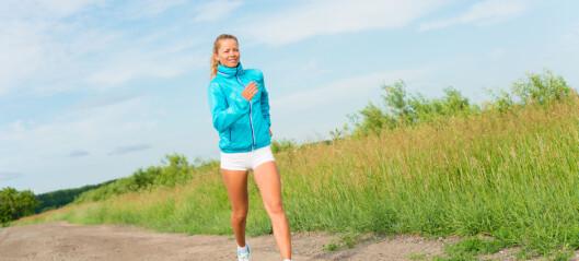 Fysisk aktivitet kan hjelpe deg å unngå depresjon