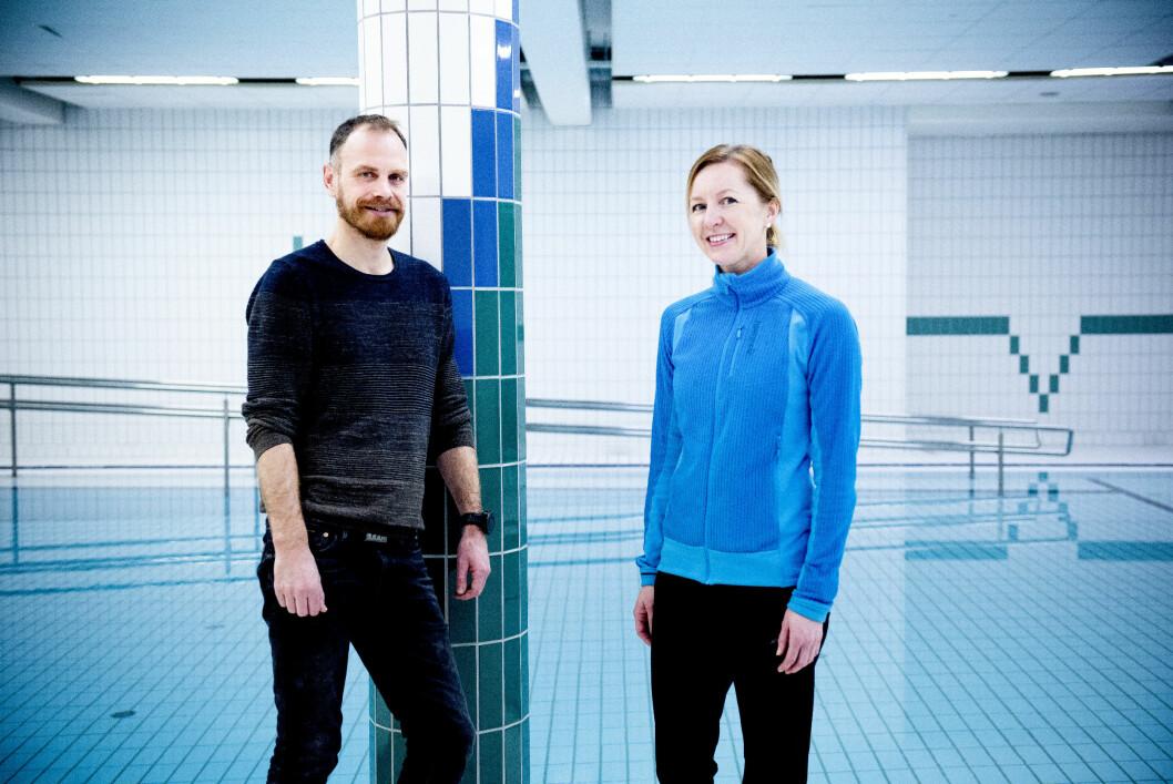 Mona Plener Sandved og Bjørn Roar Vagle har studert hvordan gruppebaserte aktiviteter kan motivere personer med psykisk utviklingshemming til å endre livsstil. Foto: Jan Inge Haga