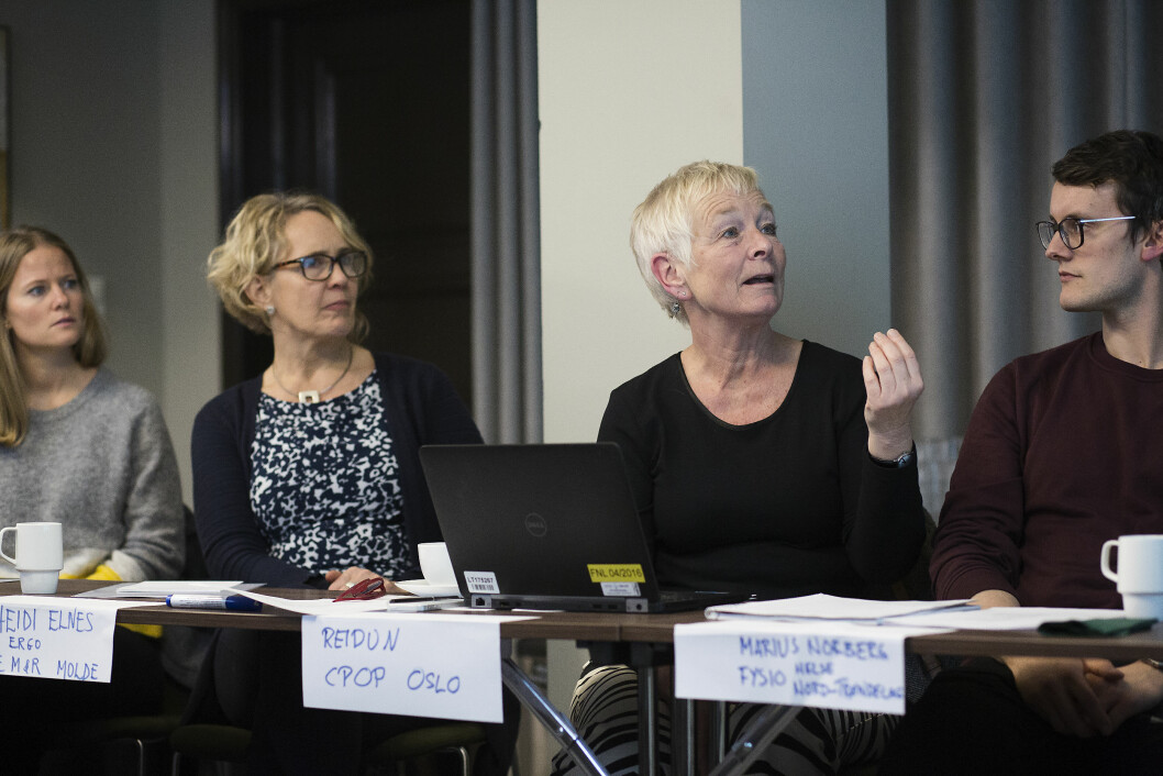 Reidun Jahnsen, professor ved UiO, har siden 1990-tallet jobbet tett med voksne CP-pasienter. Foto: Silje Katrine Roninson