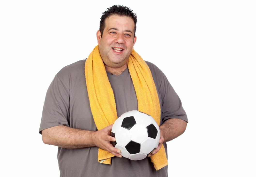 Den daglige aktiviteten økte med nesten 1000 skritt og deltakerne gikk i gjennomsnitt ned fire kilo i vekt. Fotballsupportere har hatt god effekt av et opplegg hvor toppklubbens trenere og helseapparat ble stilt til rådighet for fansen. (Illustrasjonsbilde)