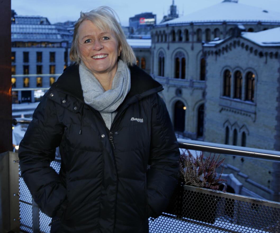 Unio-leder Ragnhild Lied.