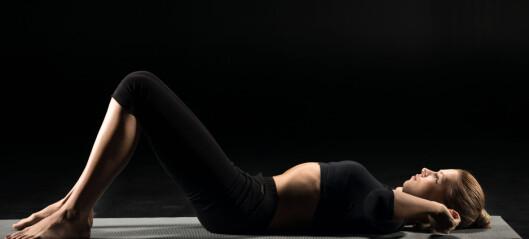 Anbefaler fysioterapi ved stressinkontinens og underlivsprolaps