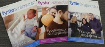 Sterk posisjon for Fysioterapeuten på papir
