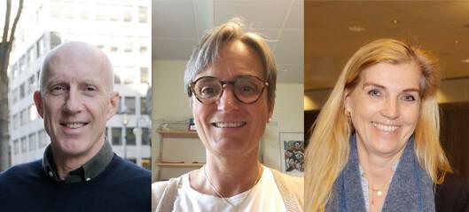 Tre kjemper om å bli leder i NFF