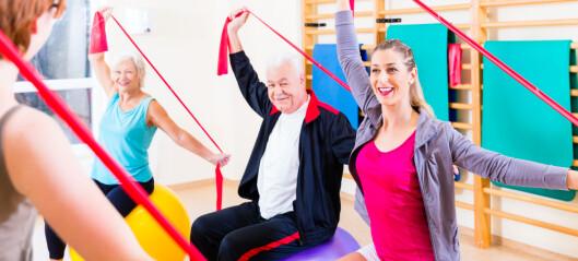 NICE: Risiko for demens kan reduseres med fysisk aktivitet