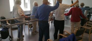 Oslo har fått flere fysioterapeuter i hjemmetjenesten