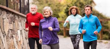 God kondisjon minsker risikoen for demens