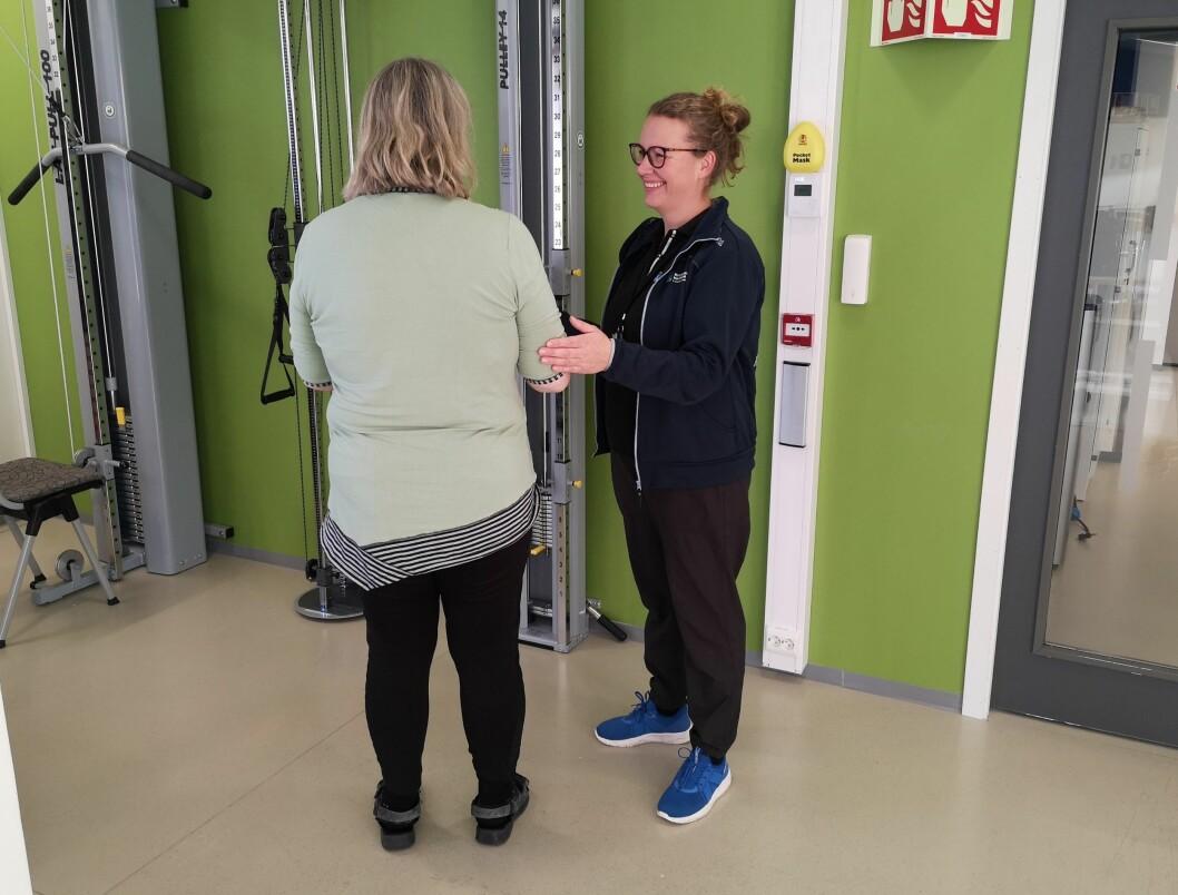 Fysioterapeuter i Kristiansund har prøvd ut mange ulike arbeidsmetoder for tverrfaglig oppfølging i hjemmet, men vi savner varige strukturer og sterkere involvering, sier Trude Nordskag, tillitsvalgt for fysioterapeutene. (Foto: privat)