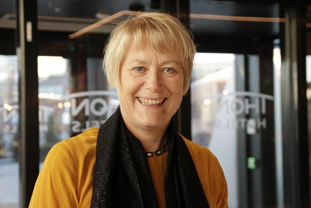 Fysiofondets styreleder Eilin Ekeland.