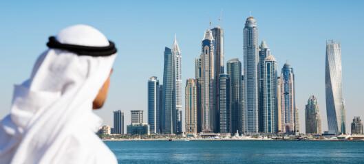 NFF boikotter verdenskongressen i Dubai