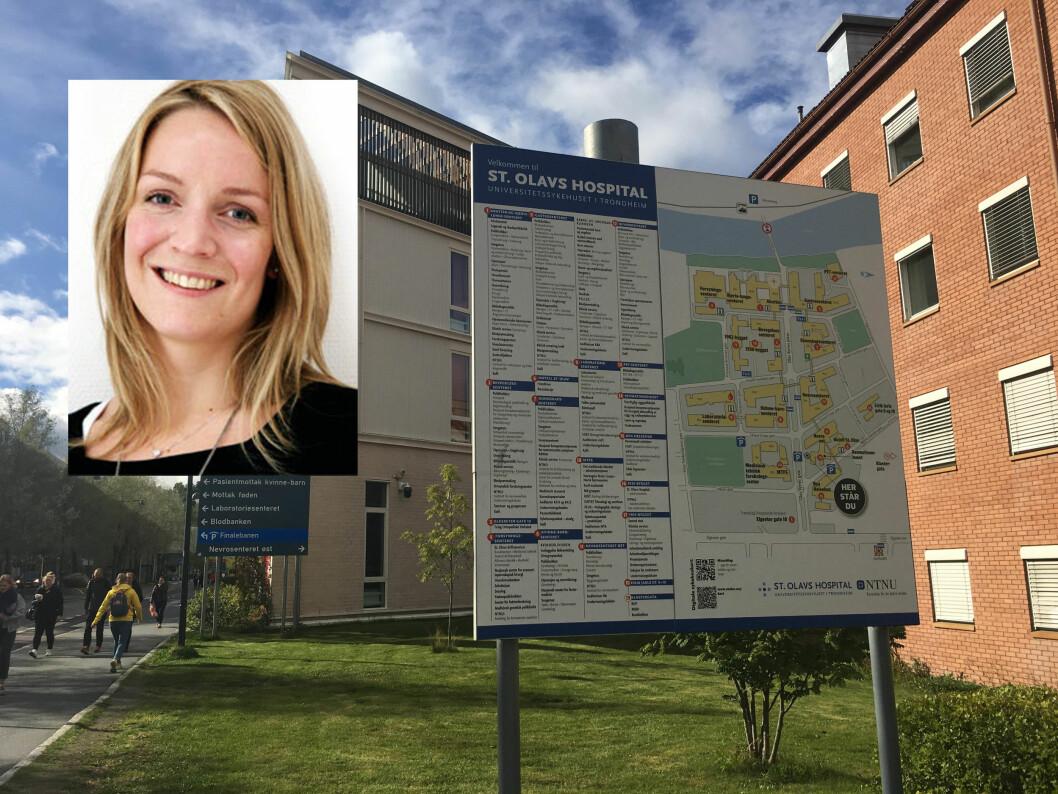 Tempoet er stort sett høyere enn for noen år siden over hele linja, mener tillitsvalgt Nora Østbø Boldermo ved St Olavs Hospital.