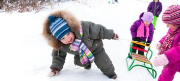 Målt fysisk aktivitetsnivå i tre barnehager sommer og vinter