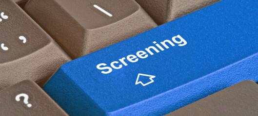Screening og monitorering: Hva, hvordan og hvorfor?
