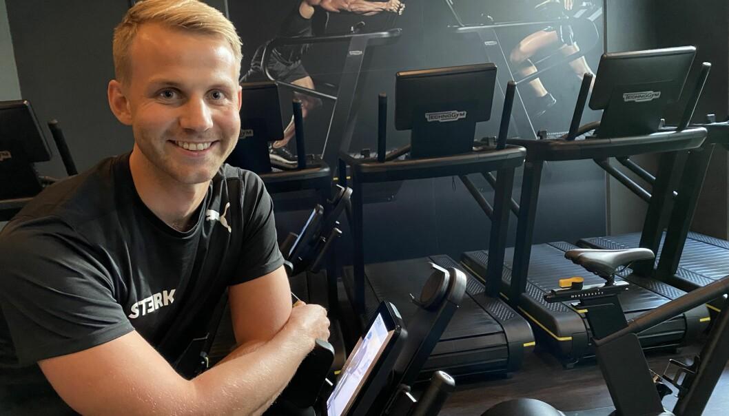 Ådne Øvergaard er både personlig trener og fysioterapeut.