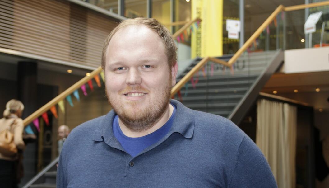 Stipendiat Odd-Einar Svinøy måtte ta permisjon fra phd-stillingen og jobber nå ni måneder klinisk. Slik unngår han å gå tom for penger i prosjektet før han rekker å rekruttere nok pasienter til studien sin.