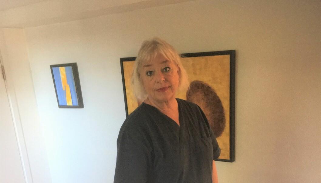 Fysioterapeut Kristin Ruders bilde av lipødem falt ikke i god jord hos YouTube.