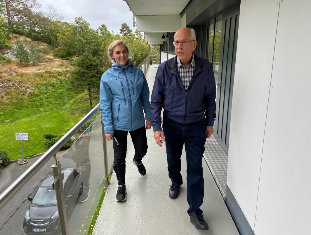 Paul Mardon Qvalben er en av dem som har fått hverdagsrehabilitering i Kristiansand av fysioterapeut Ingvild Bjorvatn Saaghus. I morgen kan du lese om deres erfaringer og erfaringer i Lillehammer.