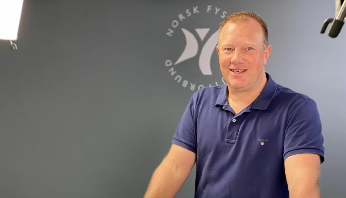 Leder i faggruppen for idrettsfysioterapi og aktivitetsmedisin, Kenneth Martinsen.