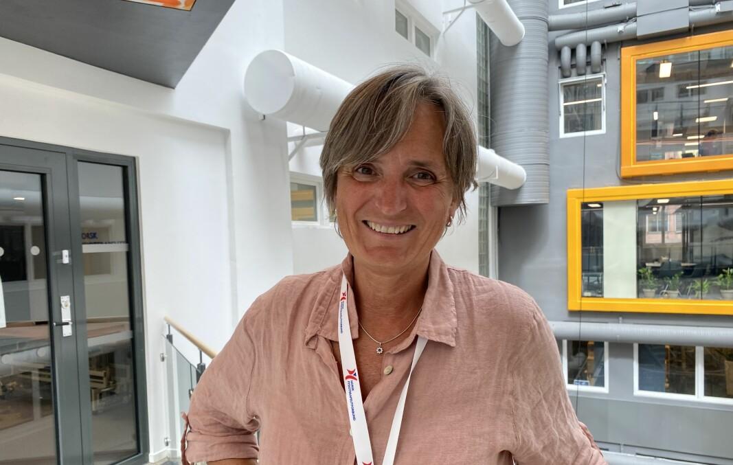Forbundsleder Gerty Lund i Norsk Fysioterapeutforbund (NFF).