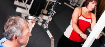 - Fysioterapeuter bør bidra til at terskelen for styrketrening blir lavere for eldre