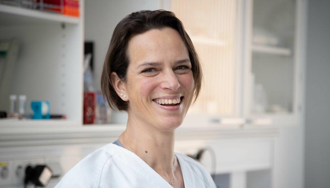 Astrid Woodhouse er en av to fysioterapeuter som representerer Norsk Fysioterapeutforbund i ekspertgruppen som skal jobbe med pakkeforløp.