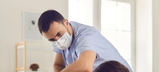 Ingen høyere smitte blant fysioterapeuter nå enn ellers i befolkningen