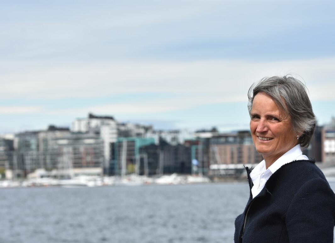 Forbundsleder Gerty Lund ønsker debatt om organiseringen av NFF.