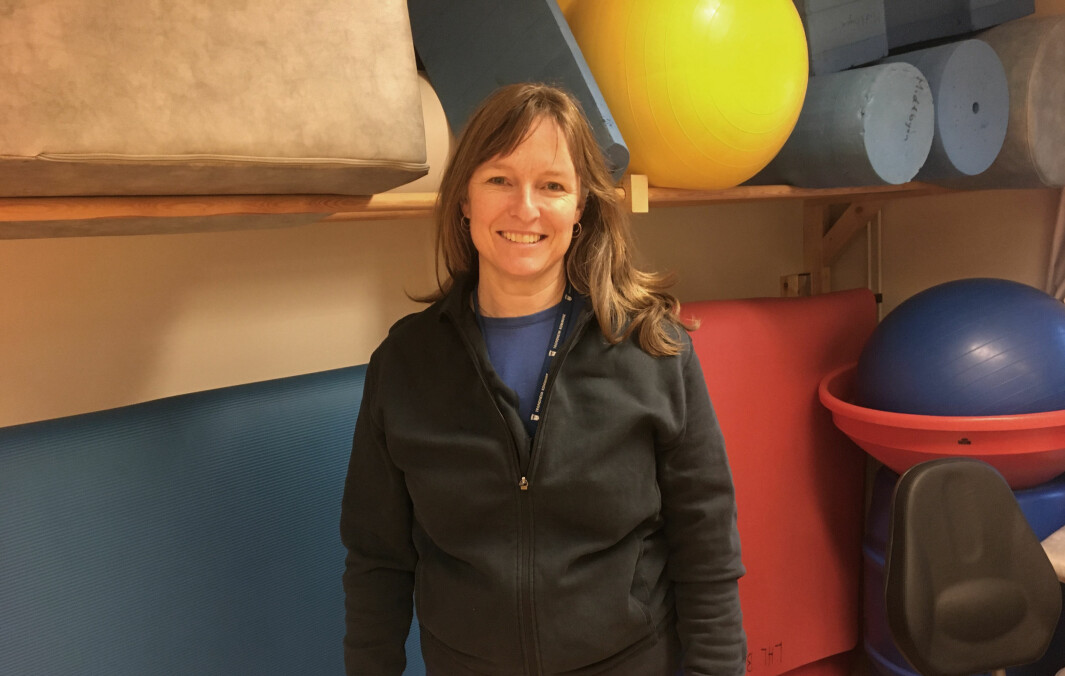 Fungerende leder Ingunn Skogseth-Stevens i NFFs faggruppe for barne- og ungdomsfysioterapi.