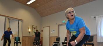 Èn av fire pasienter hos avtalefysioterapeuter er over 70 og har risiko for funksjonsfall
