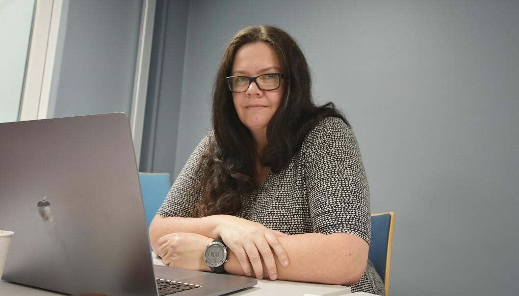 Universitetslektor Kathrine Rømmen.