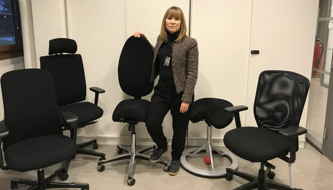 Faggruppeleder Carolina Lybäck-Forsbacka.
