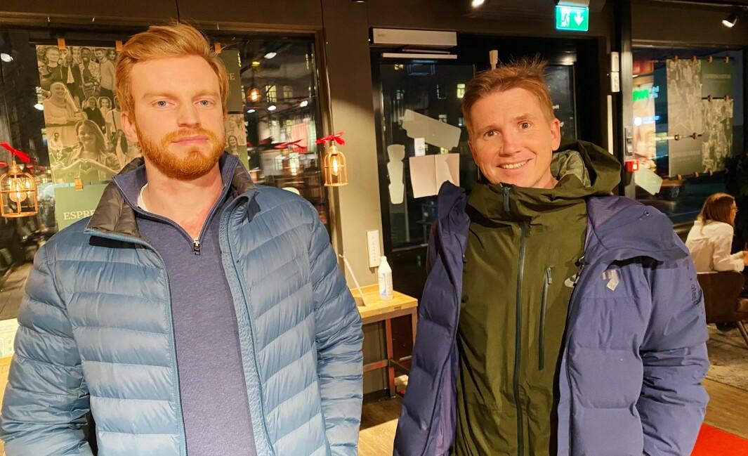 Kasper Wikestad mener han kom seg raskere etter kreftoperasjoner på grunn av hjelp fra fysioterapeut Øystein Aas.