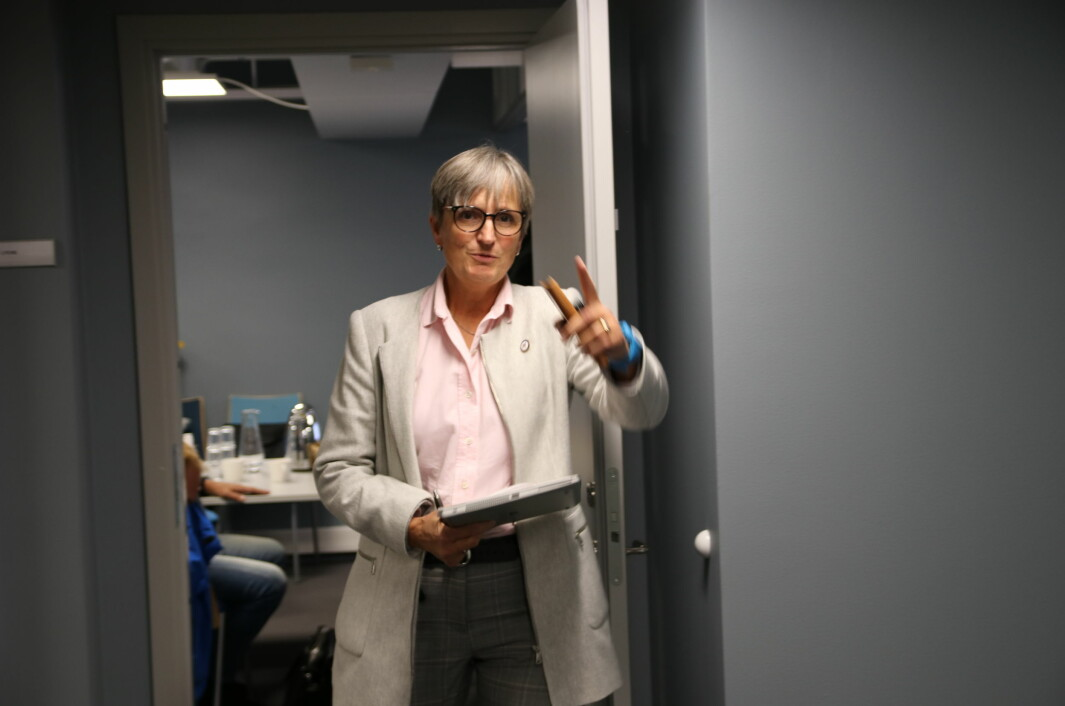 Forbundsleder Gerty Lund lover forbedringer ovenfor sykehusfysioterapeutene.