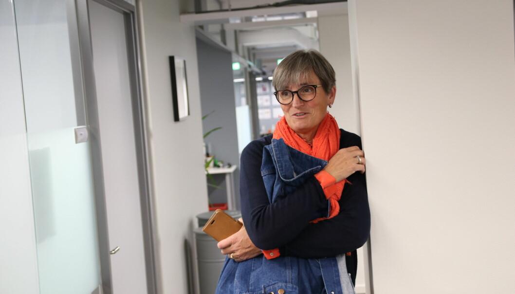 Forbundsleder Gerty Lund kommenterer kritikken fra Steinar Krey Voll.