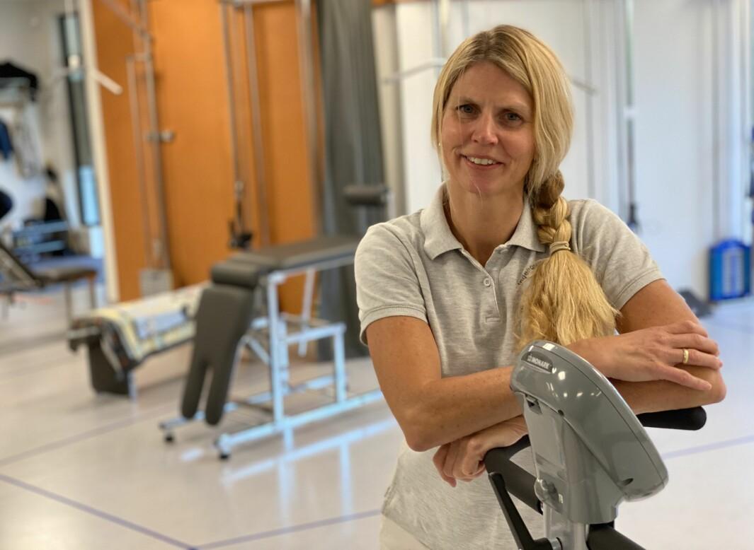 PhD og fysioterapeut Ingeborg H. Brækken.