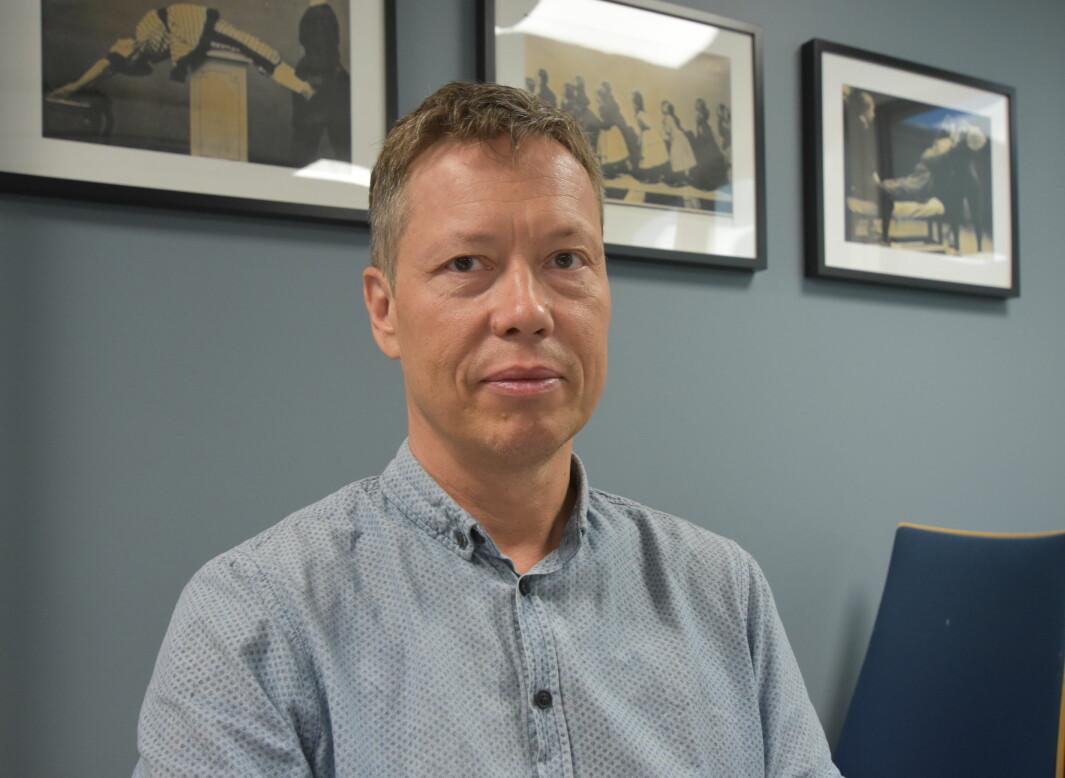 Regionleder Hans Leo Dagsvik.