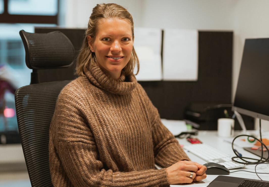 Merete Kolberg Tennfjord hjelper nybakte mødre i Etiopia.