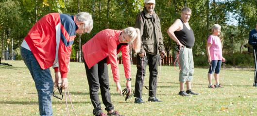 Fysioterapeuter kan jobbe for å unngå sparekniven på frisklivssentraler