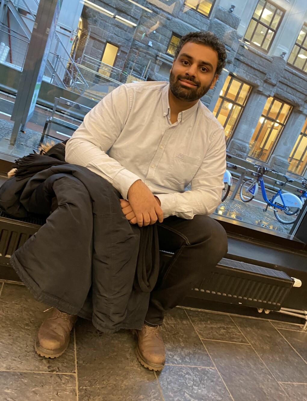 Zulgarnain Hussain var den eneste i kullet med innvandreropphav.