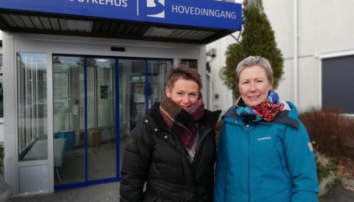 Kerstin Lundeberg Larsen (til høyre) og Olga de Vries oppfordrer fysioterapeuter å ta kontakt.