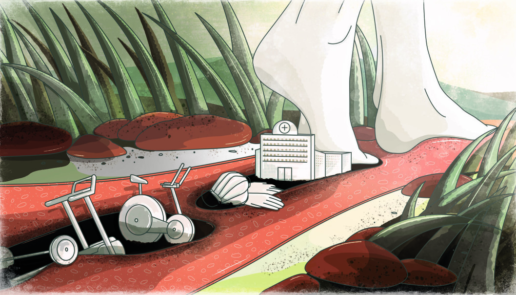 """The environmental footprint of healthcare"""