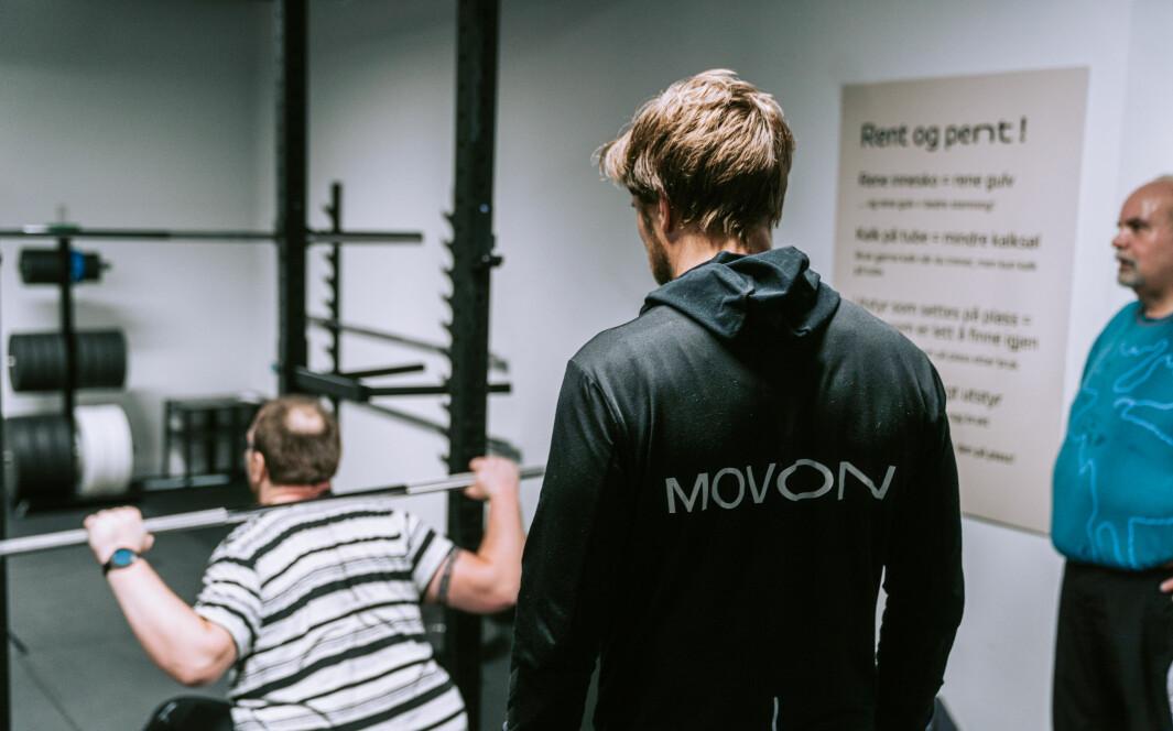 Behandling av overvektige ved Movon i Sandnes.
