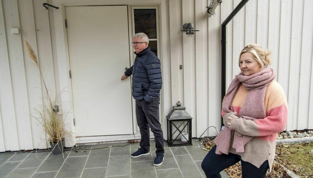 Både Joanna Hauken og ektefellen Frode Hauken er bekymret.