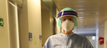 Bør fysioterapeuter behandle covid-19-pasienter selv om smitteutstyret er dårlig?