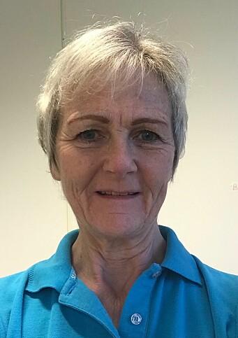 Forbundsleder Linda Linge i PFF.