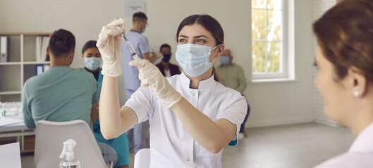 Vaksiner fysioterapeutstudenter!