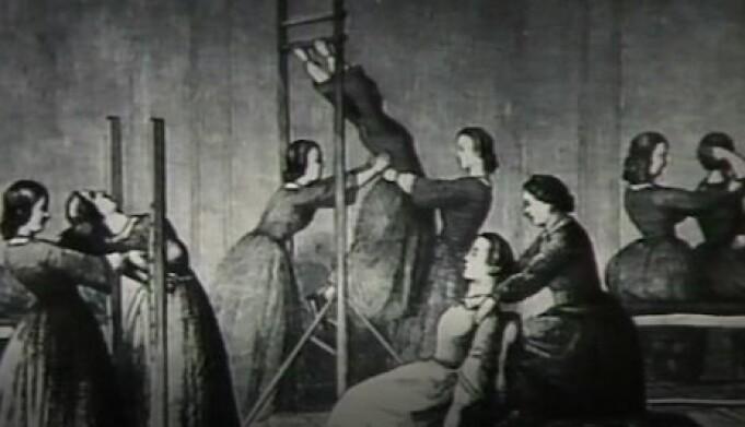 Sykegymnastikk ved århundreskiftet 1800-1900.