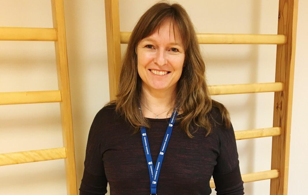 Faggruppeleder Ingunn Skogseth-Stevens er fornøyd med at regjeringen vil gi mer til barnehabilitering.