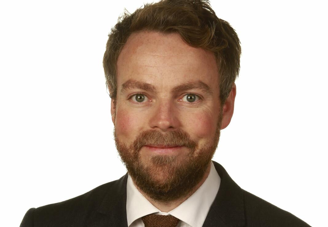 Arbeids- og sosialminister Thorbjørn Røe Isaksen.