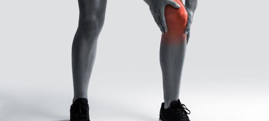 Patellofemorale smerter: God effekt av trening. Valg av øvelser mindre betydningsfullt